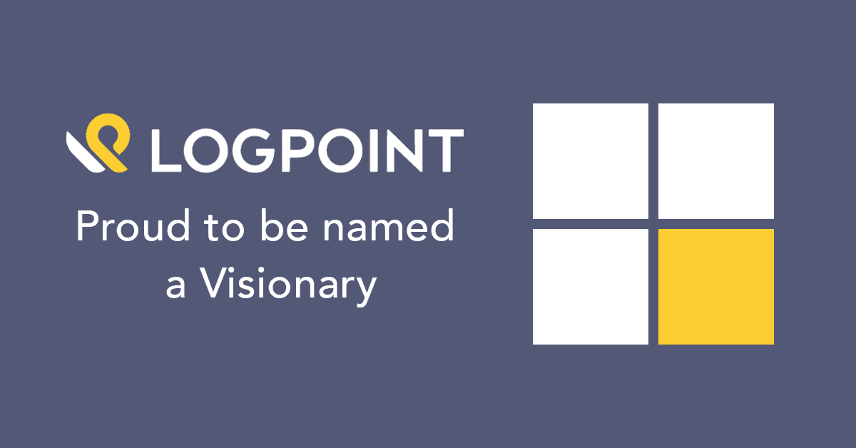 LogPoint Visionary in Gartner MQ for SIEM 2020